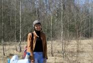 Прогулки по весеннему лесу с Пегасом :)))